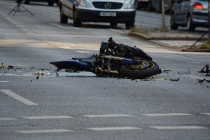 Motorcycle Rear Ended